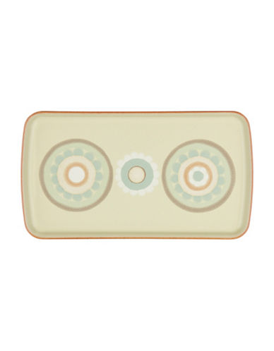 Denby Veranda Accent Rectangle Plate-MULTI-COLOURED-One Size