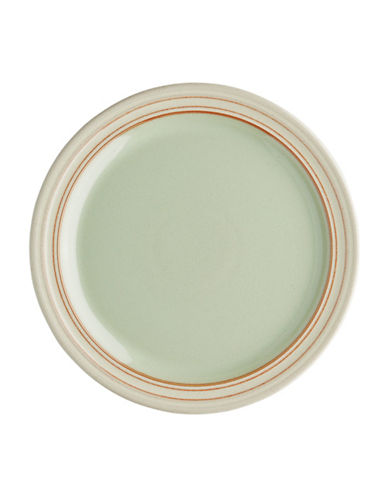 Denby Solid Salad Plate-GREEN-One Size