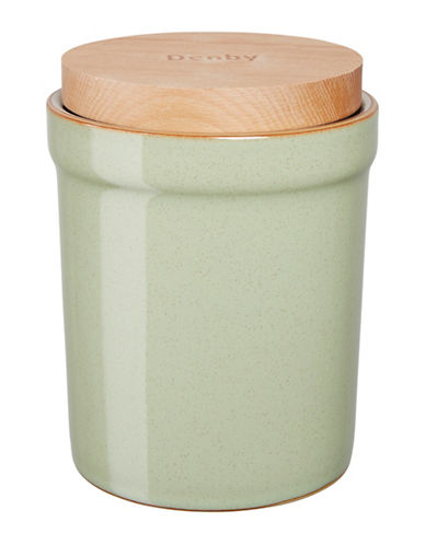 Denby Orchard Storage Jar-GREEN-One Size