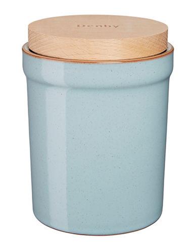 Denby Heritage Pavilion Stoneware Storage Jar-BLUE-One Size