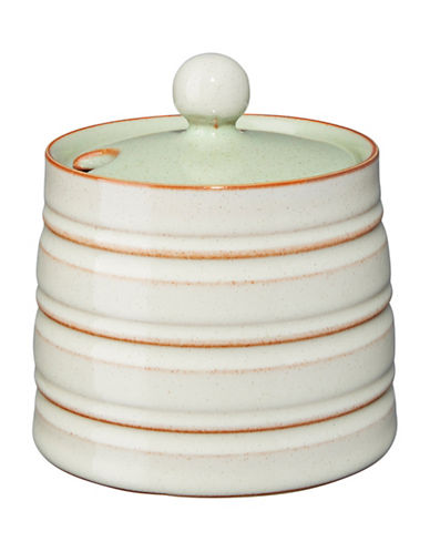Denby Heritage Orchard Covered Sugar Bowl-GREEN-One Size