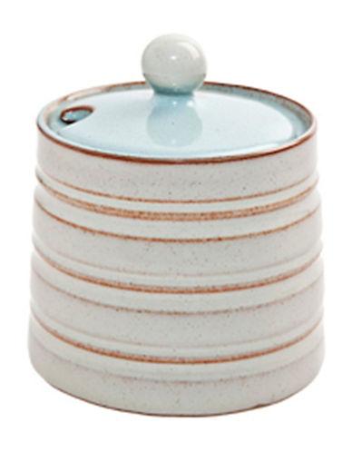 Denby Stoneware Sugar Bowl-BLUE-One Size