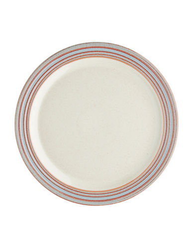 Denby Heritage Terrace Stoneware Dinner Plate-GREY-One Size