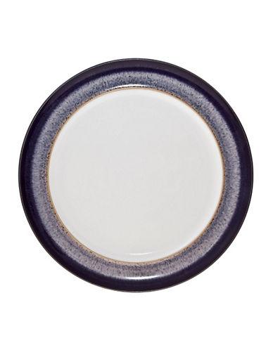 Denby Heather Wide Rim Dinner Plate-PURPLE-One Size