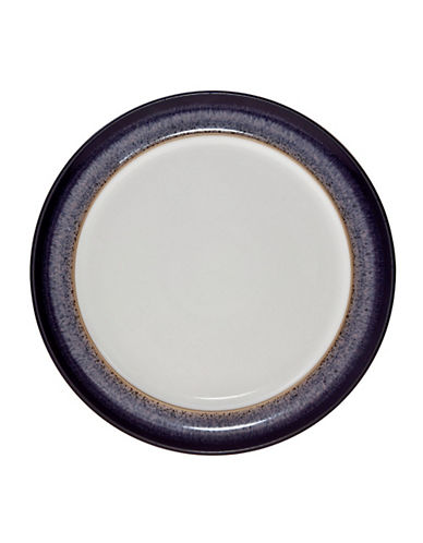 Denby Heather Wide Rim Salad Plate-PURPLE-One Size