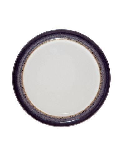 Denby Heather Wide Rim Tea Plate-PURPLE-8
