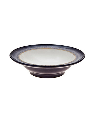 Denby Heather Wide Rim Soup And Cereal Bowl-PURPLE-One Size