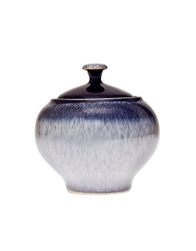 Denby Heather Stoneware Covered Sugar Bowl-PURPLE-One Size