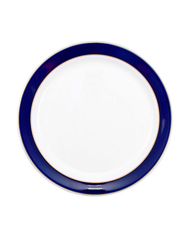 Denby Malmo Salad and Dessert Plate-BLUE-One Size