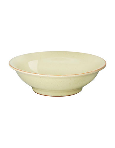Denby Heritage Veranda Shallow Bowl-YELLOW-5 Inches
