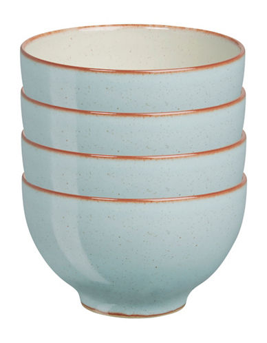 Denby Four-Piece Heritage Pavilion Small Bowl Set-BLUE-One Size