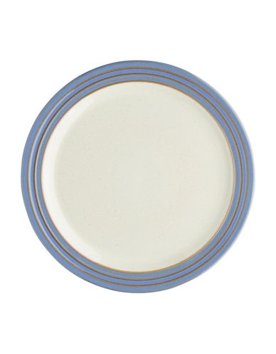 Denby Heritage Fountain Dinner Plate-BLUE-One Size