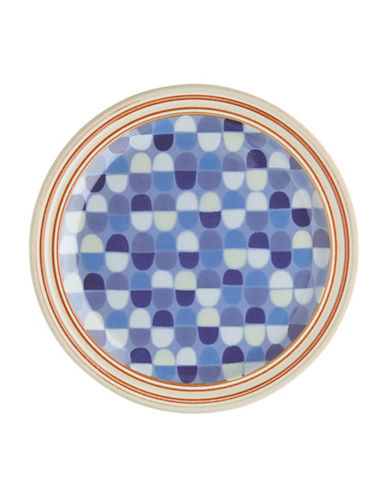Denby Fountain Salad Plate-BLUE-One Size