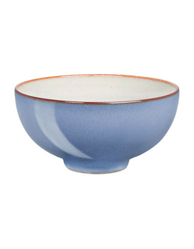 Denby Heritage Fountain Rice Bowl-BLUE-5 Inches