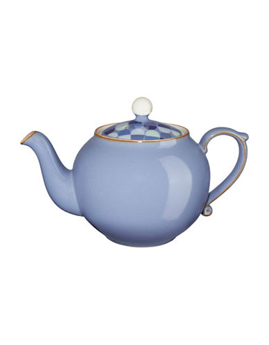 Denby Fountain Accent Teapot-BLUE-One Size