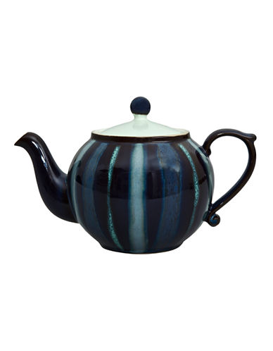 Denby Peveril Accent Teapot-NAVY BLUE-1.4L