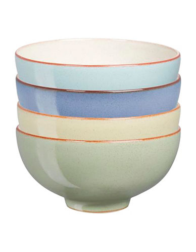 Denby Set of Four Heritage Rice Bowls-ASSORTED-5 Inches