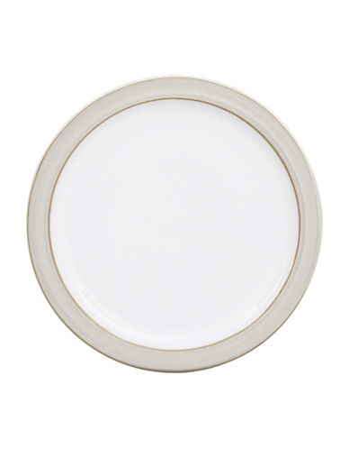 Denby Natural Canvas Stoneware Tea Plate-WHITE-One Size