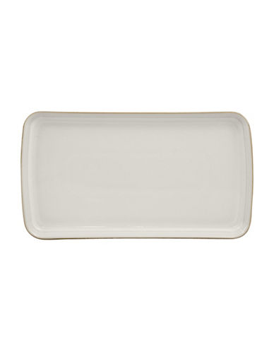 Denby Natural Canvas Stoneware Small Rectangular Platter-WHITE-One Size