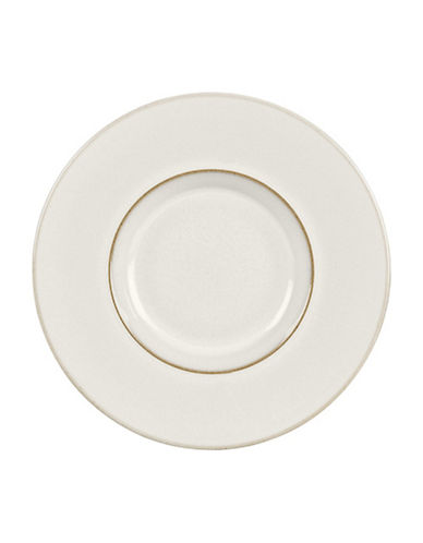 Denby Natural Canvas Stoneware Espresso Saucer-WHITE-Small