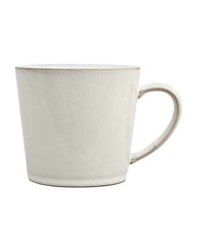 Denby Natural Canvas Stoneware Large Mug-WHITE-300 ml