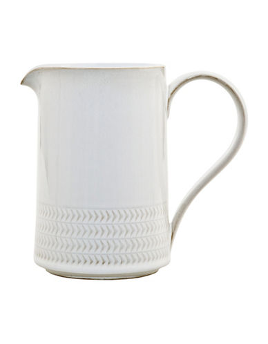 Denby Natural Canvas Stoneware Medium Jug-WHITE-One Size