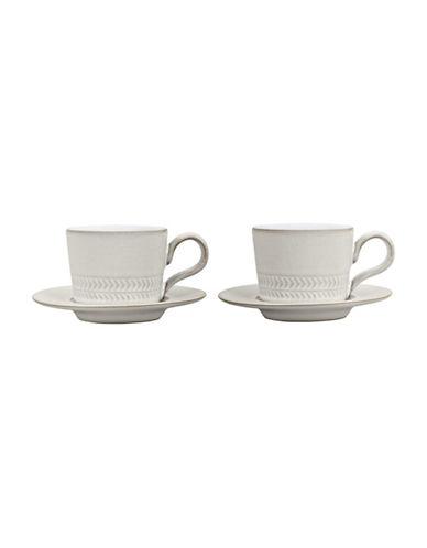 Denby Four-Piece Natural Canvas Espresso Cup Set-NATURAL-One Size