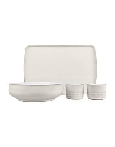 Denby Natural Canvas Four-Piece Lunch Set-NATURAL-One Size