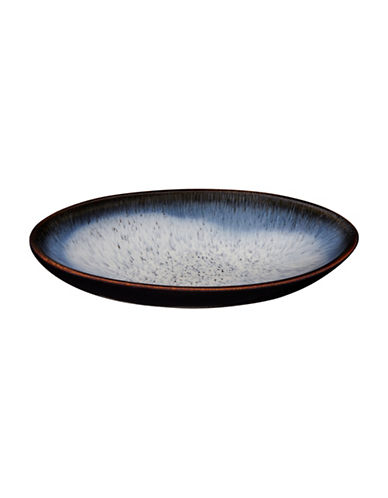 Denby Halo Medium Oval Serving Dish-BLUE-One Size