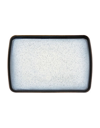 Denby Halo Large Rectangular Platter-BLACK-One Size