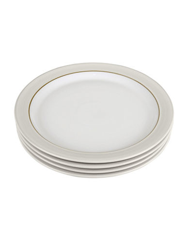 Denby Set of Four Natural Canvas Dinner Plates-NATURAL-One Size