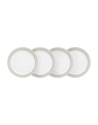 Denby Set of Four Natural Canvas Salad Plates-NATURAL-One Size
