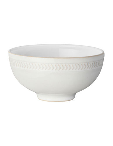 Denby Natural Canvas Chevron Rice Bowl-NATURAL-One Size