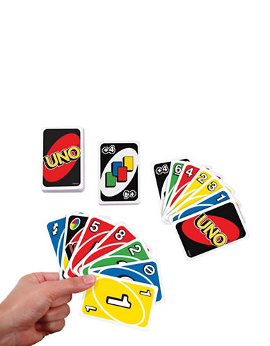Mattel Uno Card Game-MULTI-One Size