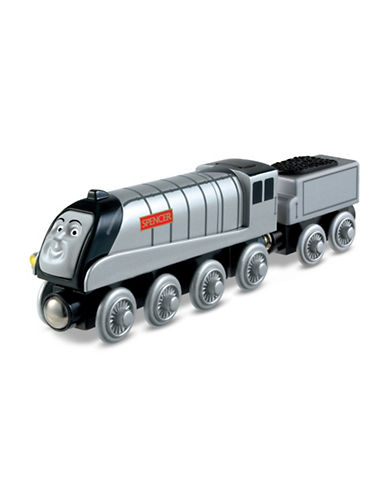 Fisher Price Thomas and Friends Wooden Railway Talking Spencer-MULTI-One Size