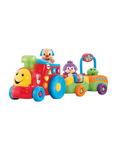 Fisher Price Laugh & Learn Puppys Smart Train - French Edition-MULTI-One Size
