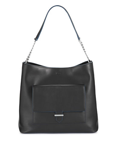 Hugo Tali Leather Tote-BLACK-One Size 88800829_BLACK_One Size