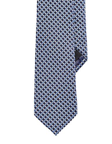 Izod Neat Tie-NAVY-One Size