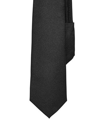 Izod Solid Zip Tie-BLACK-One Size