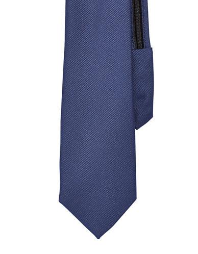 Izod Solid Zip Tie-NAVY-One Size