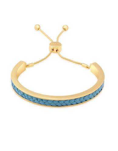 Guess Imitation Gold Friendship Bracelet-TURQUOISE-One Size