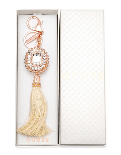 Guess Tassel Keychain-GOLD-One Size