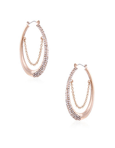 Guess Earring Update Crystal Earrings-GOLD-One Size