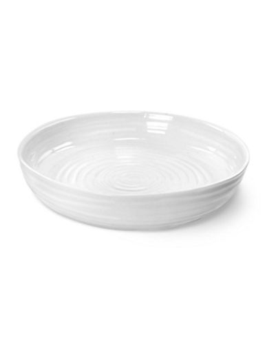 Sophie Conran For Portmeirion Round Roasting Dish-WHITE-One Size