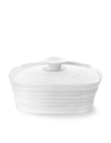 Sophie Conran For Portmeirion Covered Butter Dish-WHITE-One Size