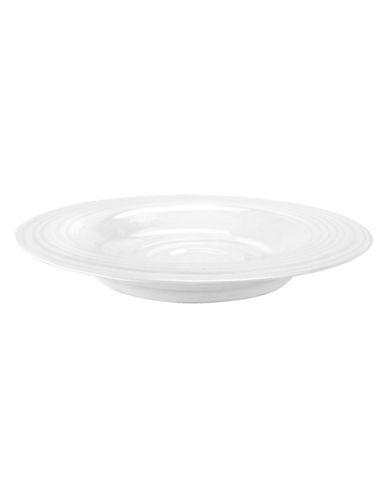 Sophie Conran For Portmeirion 10   White Rim Soup Bowl-WHITE-One Size