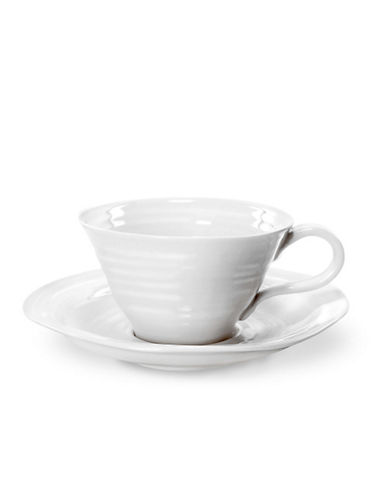 Sophie Conran For Portmeirion Tea Saucer-WHITE-One Size