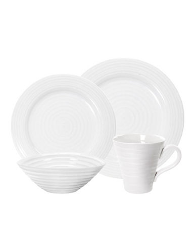 Sophie Conran For Portmeirion 4 Piece Place Setting-WHITE-One Size