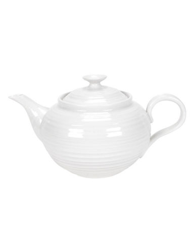 Sophie Conran For Portmeirion Teapot-WHITE-One Size
