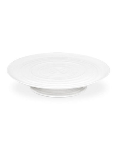 Sophie Conran For Portmeirion Footed Cake Plate-WHITE-One Size